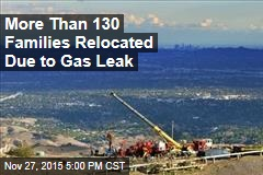 More Than 130 Families Relocated Due to Gas Leak