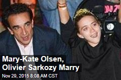 Mary-Kate Olsen, Olivier Sarkozy Marry