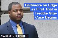 Baltimore on Edge as First Trial in Freddie Gray Case Begins