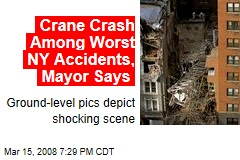 Crane Crash Among Worst NY Accidents, Mayor Says
