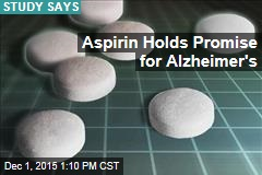 Aspirin Holds Promise for Alzheimer's