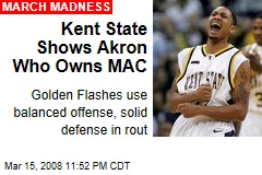 Kent State Shows Akron Who Owns MAC