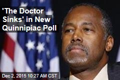 'The Doctor Sinks' in New Quinnipiac Poll