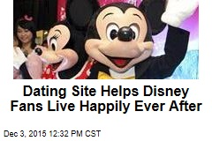 Dating Site Helps Disney Fans Live Happily Ever After