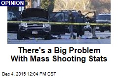 There's a Big Problem With Mass Shooting Stats