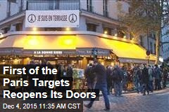 First of the Paris Targets Reopens Its Doors