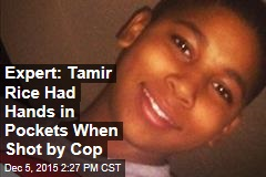 Expert: Tamir Rice Had Hands in Pockets When Shot by Cop