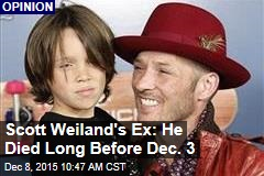 Scott Weiland's Ex: He Died Long Before Dec. 3