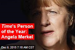 Time 's Person of the Year: Angela Merkel