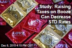 Study: Raising Taxes on Booze Can Decrease STD Rates