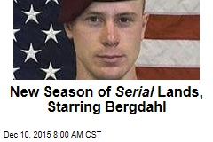 New Season of Serial Lands, Starring Bergdahl