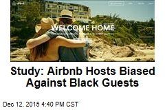 Study: Airbnb Hosts Biased Against Black Guests