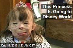 This Princess Is Going to Disney World