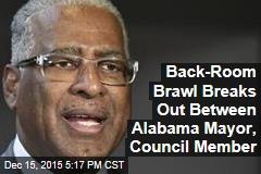 Back-Room Brawl Breaks Out Between Alabama Mayor, Council Member