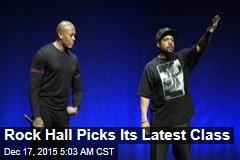NWA Enters Rock Hall of Fame