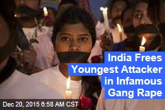 India Frees Youngest Attacker in Infamous Gang Rape