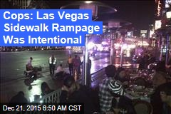 Cops: Vegas Sidewalk Horror Was Intentional