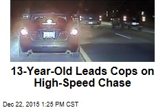 13-Year-Old Leads Cops on High-Speed Chase
