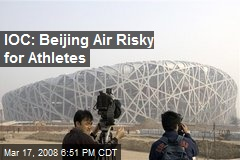 IOC: Beijing Air Risky for Athletes