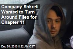 Company Shkreli Wanted to Turn Around Files for Chapter 11