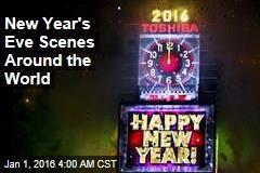 New Year's Eve Scenes Around the World