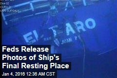 Feds Release Photos of Ship's Final Resting Place