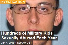 Hundreds of Military Kids Sexually Abused Each Year