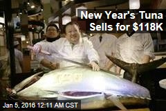 New Year's Tuna Sells for $118K