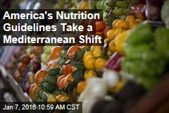 New Nutrition Guidelines Shift Toward Mediterranean Diet