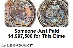 Rare 1894 Dime Sells for Almost $2M