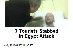 3 Tourists Stabbed in Egypt Attack