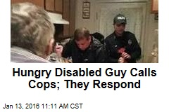 Hungry Disabled Guy Calls Cops; They Respond