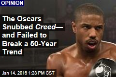 The Oscars Snubbed Creed — and Failed to Break a 50-Year Trend