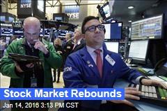 Stock Market Rebounds