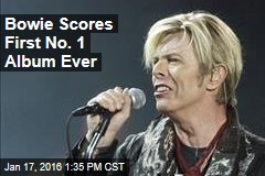 Bowie Scores First No. 1 Album Ever