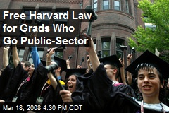 Free Harvard Law for Grads Who Go Public-Sector