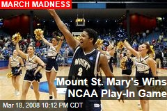 Mount St. Mary's Wins NCAA Play-In Game