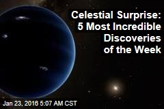 Celestial Surprise: 5 Most Incredible Discoveries of the Week