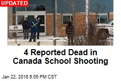 5 Reported Dead in Canada School Shooting