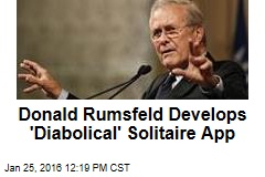 Donald Rumsfeld's New Gig: Game Developer