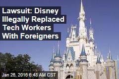 Tech Workers Replaced by Immigrants Sue Disney