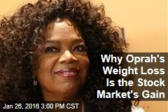 Why Oprah's Weight Loss Is the Stock Market's Gain
