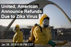 United, American Announce Refunds Due to Zika Virus