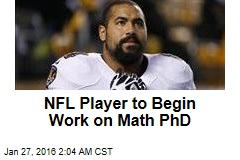 NFL Player to Begin Work on Math Ph.D