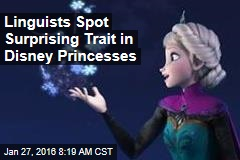Linguists Spot Surprising Trait in Disney Princesses