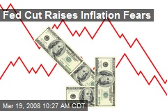 Fed Cut Raises Inflation Fears