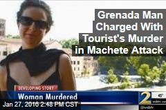 Grenada Man Charged With Tourist's Murder in Machete Attack