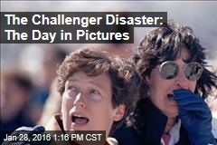 The Challenger Disaster: The Day in Pictures