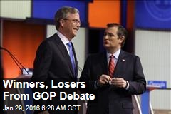Winners, Losers From GOP Debate