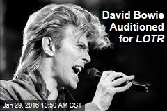David Bowie Auditioned for LOTR